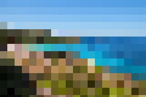 LANDSCAPE SARDINIA BLUE SEA