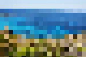 SARDINIA LANDSCAPE BLUE SEA