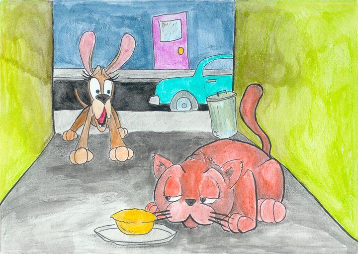 Woof & Meow: New Friends #7 - Ryan Brock Campbell