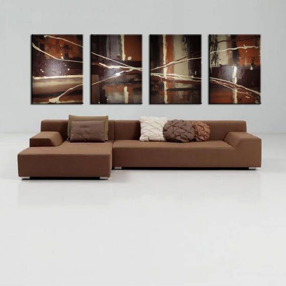 Soul Earth tone - Peter Abstract Modern Art