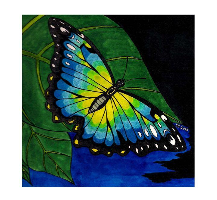 Labradorite Butterfly - Charris Segal