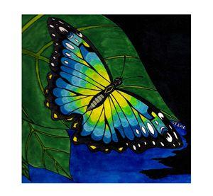Labradorite Butterfly