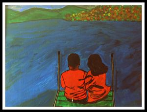 You and Me Painitng