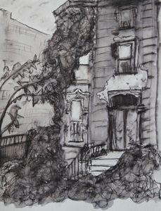 Brooklyn Brownstone - Erin Hollon Fine Art and Illustration