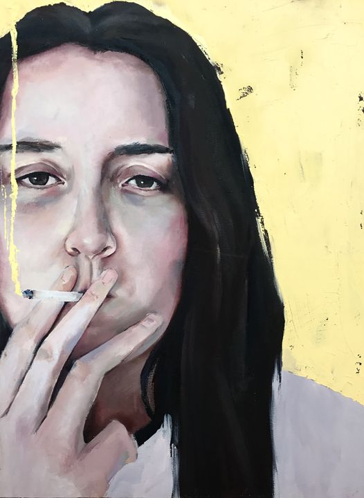 Dying to be cool 2 - Candice Philip Art