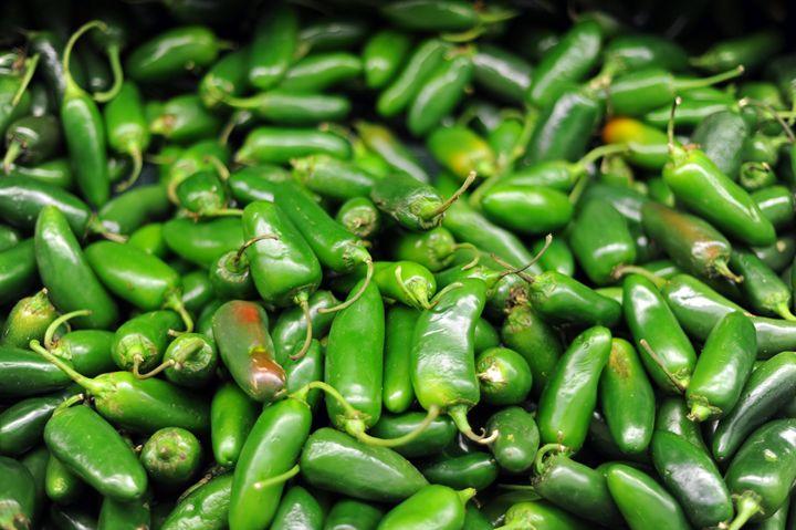 Green chilli peppers - hiroko tanaka