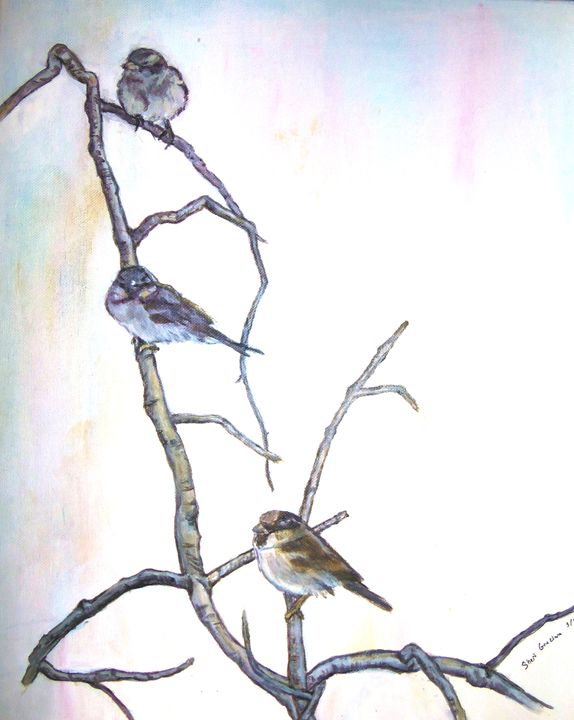 Birds On A Limb - Cheryl Graziano