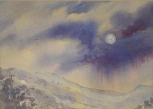 Desert Moon - GreenGallery