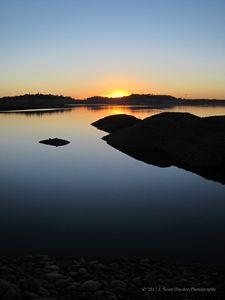 Low Folsom Sunset