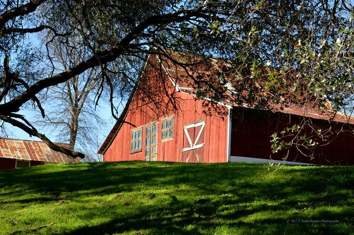 Old Barn Calaveras - J. Scott Hayden