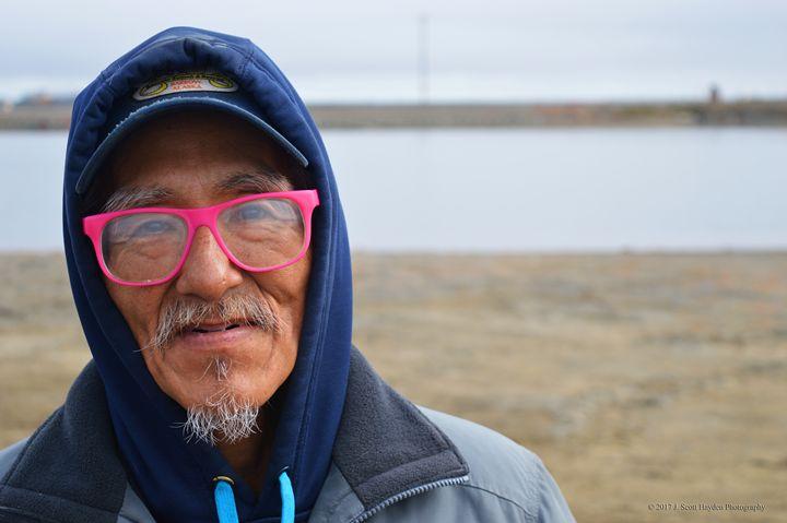 Barrow Alaska Man - J. Scott Hayden