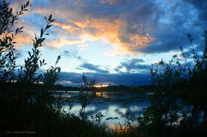 Sunset Richardson Highway