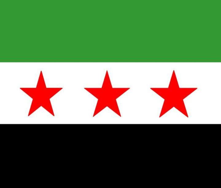 Syria Republic Flag - My Evil Twin