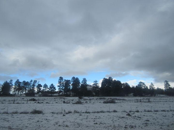 Snowy Desert Landscape - My Evil Twin
