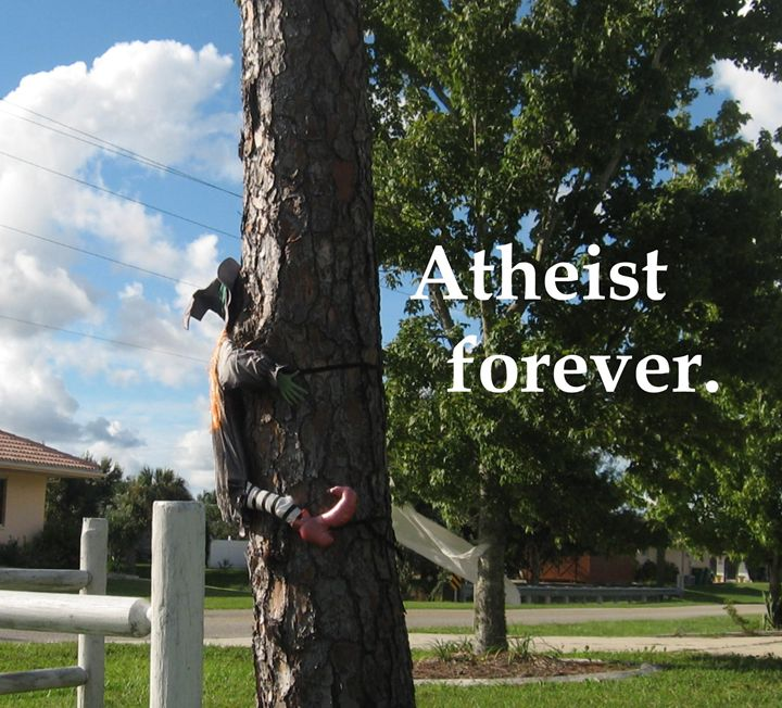 Atheist forever. - My Evil Twin