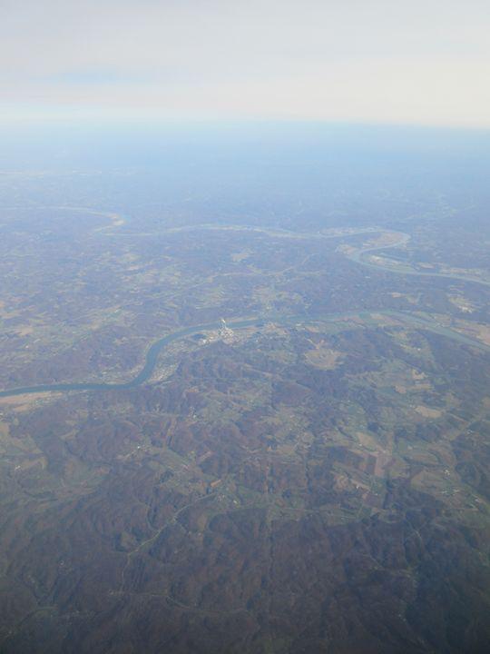 Ohio Aerial Photograph - My Evil Twin
