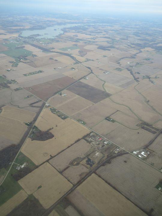 Columbus, Ohio, aerial photograph - My Evil Twin