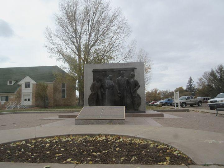 Mormon Statue - My Evil Twin