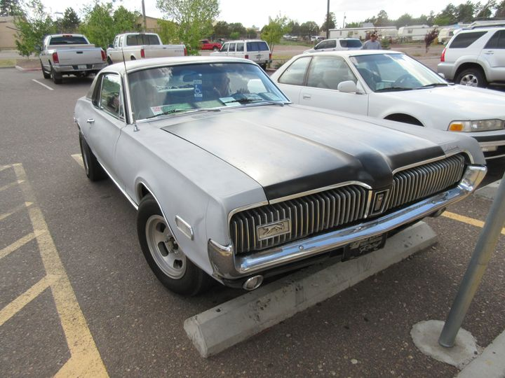 1968 Mercury Cougar XR7 - My Evil Twin