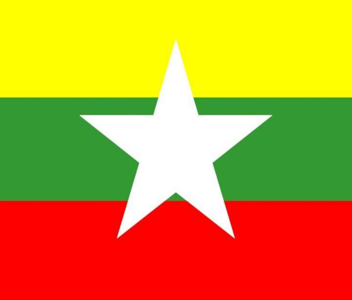 Myanmar Flag - My Evil Twin