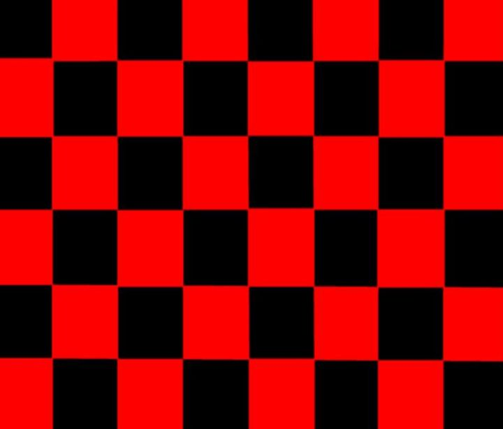 Red & Black Checkered Flag - My Evil Twin