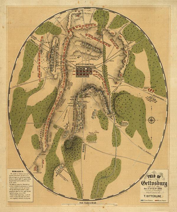 1863 Field Of Gettysburg - My Evil Twin