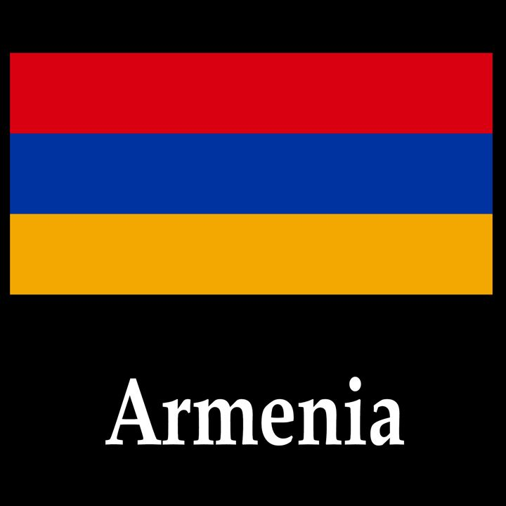 Armenia Flag And Name - My Evil Twin