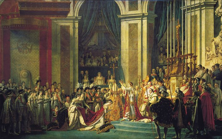 The Coronation Of Napolean - My Evil Twin