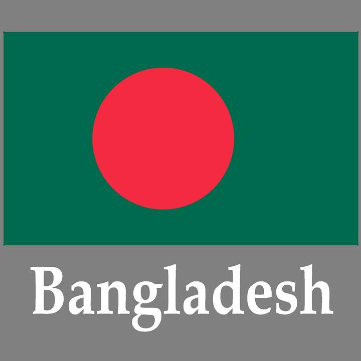 Bangladesh Flag And Name - My Evil Twin