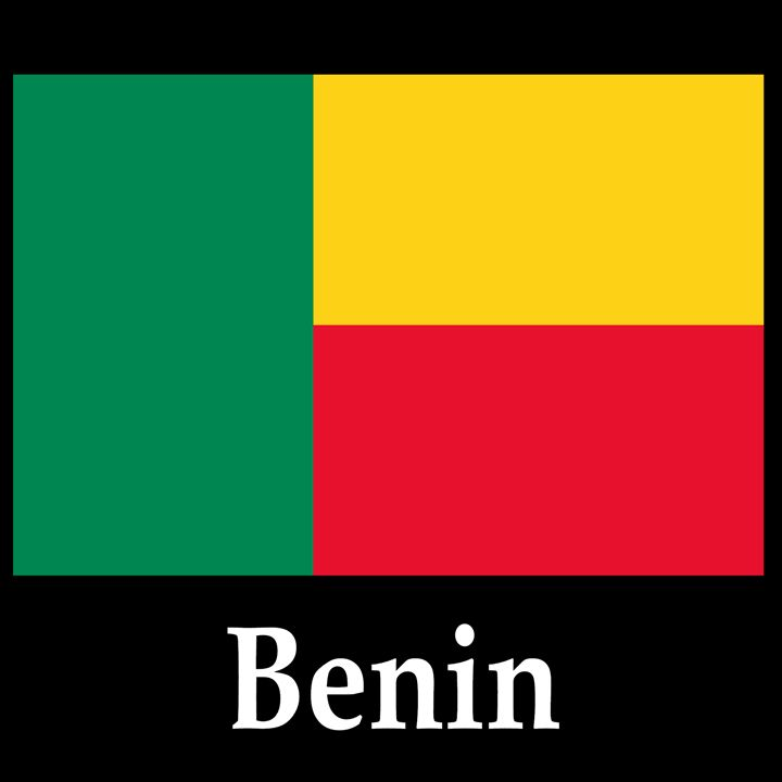 Benin Flag And Name - My Evil Twin