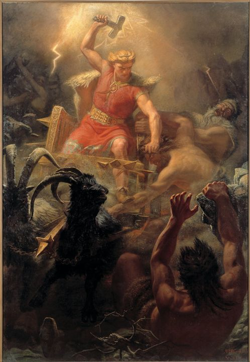 Thor's Fight With The Giants - My Evil Twin