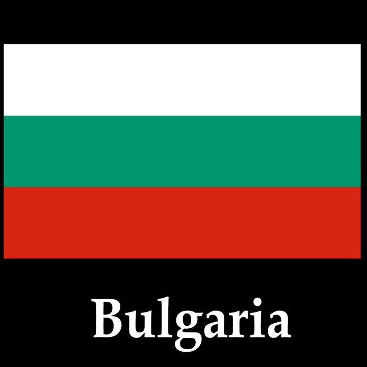 Bulgaria Flag And Name - My Evil Twin