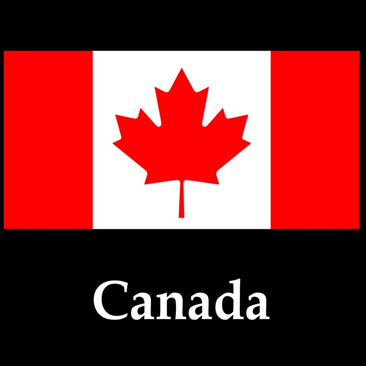 Canada Flag And Name - My Evil Twin