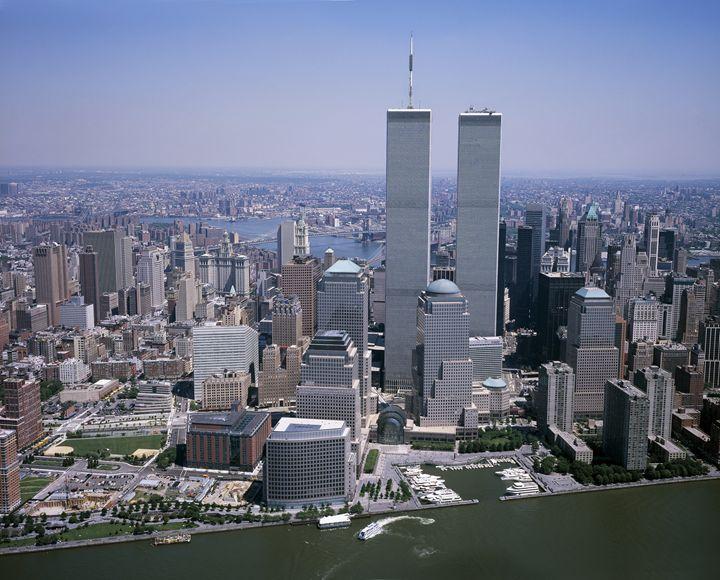 Twin Towers, NYC - My Evil Twin