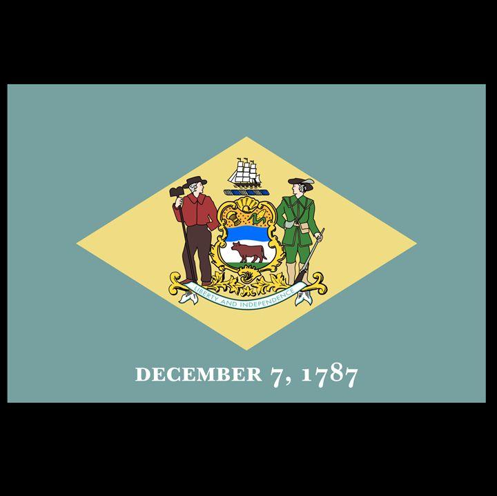 Delaware Flag - My Evil Twin
