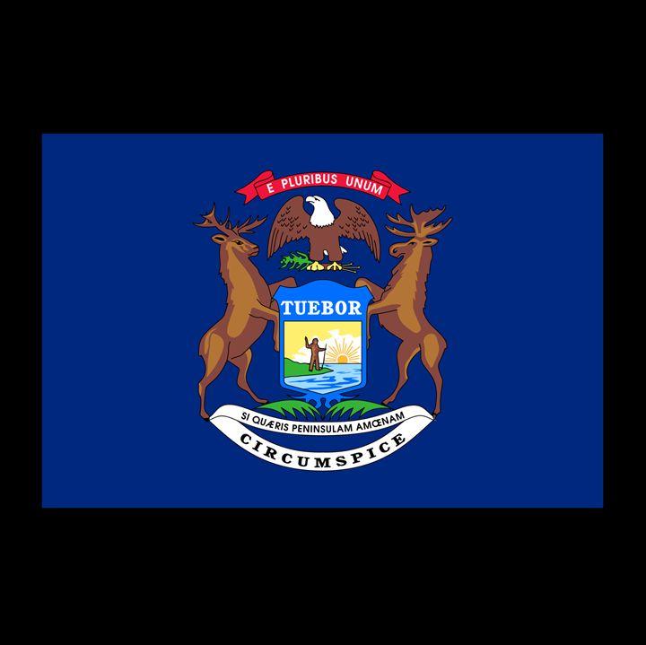 Michigan Flag - My Evil Twin