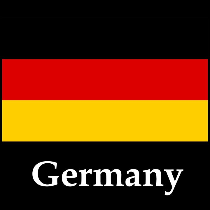 Germany Flag And Name - My Evil Twin