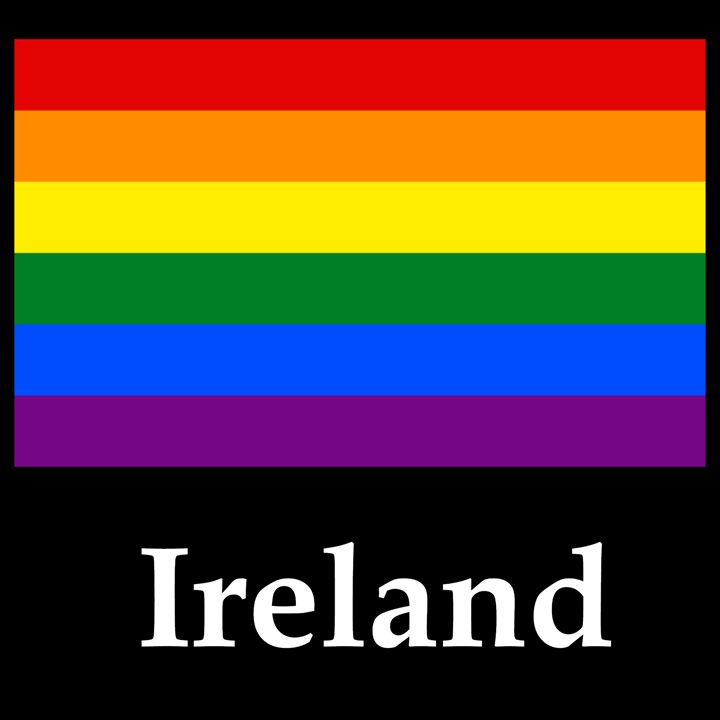 Ireland Flag And Name - My Evil Twin