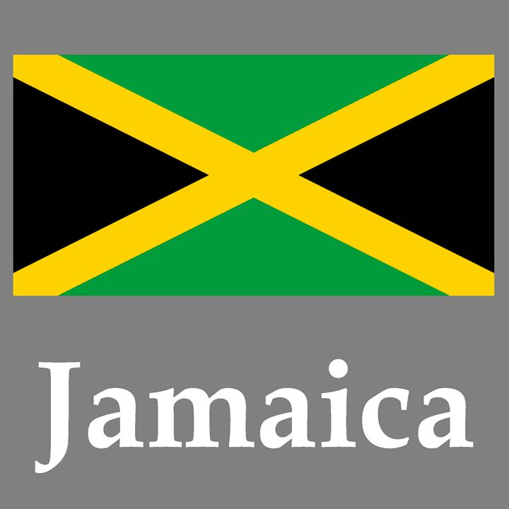 Jamaica Flag And Name - My Evil Twin