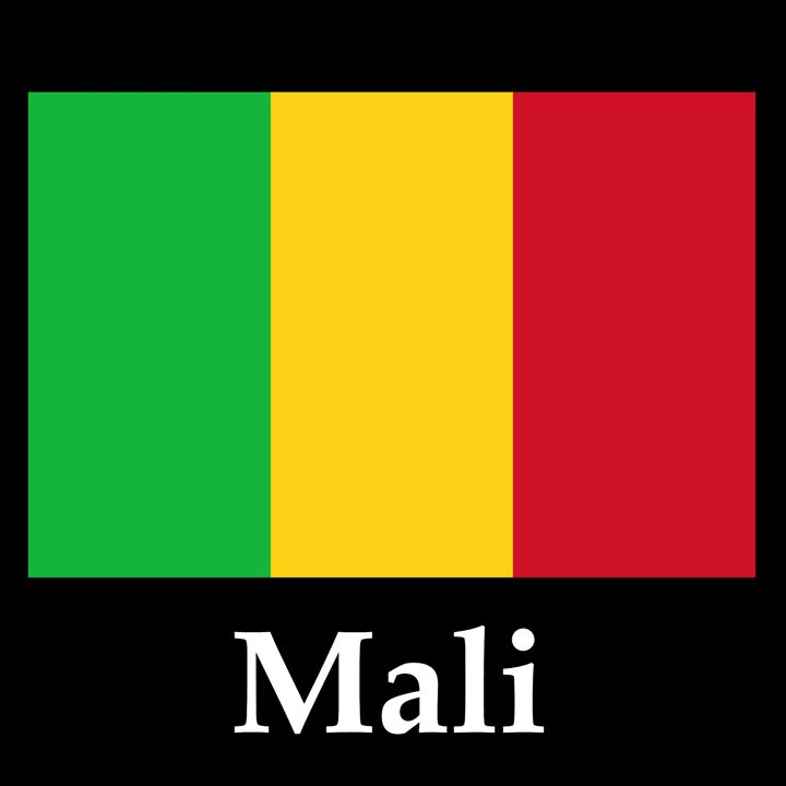 Mali Flag And Name - My Evil Twin