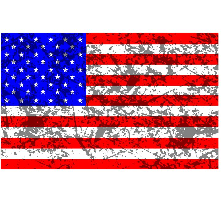 American Grunge Flag - My Evil Twin
