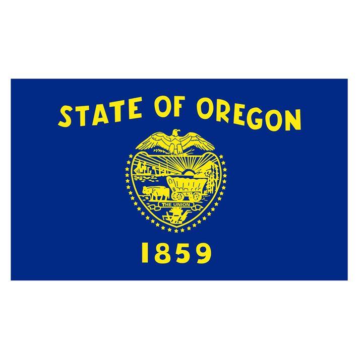 Oregon Flag - My Evil Twin