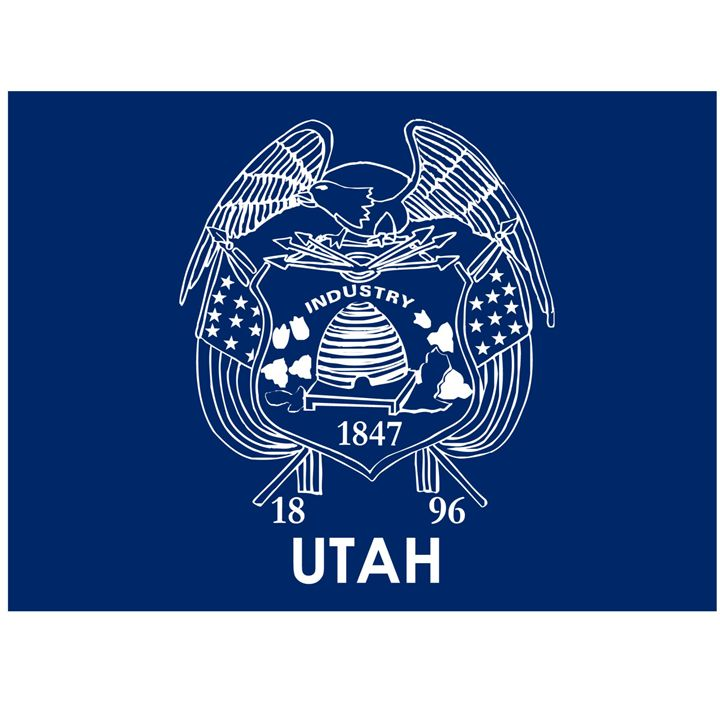 Utah Flag - My Evil Twin