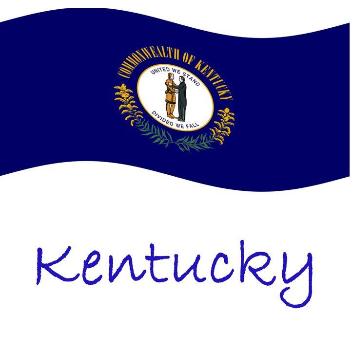 Kentucky Flag - My Evil Twin