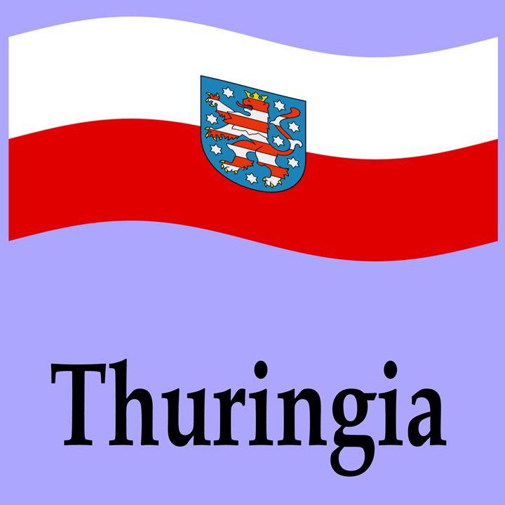 Thuringia Flag - My Evil Twin