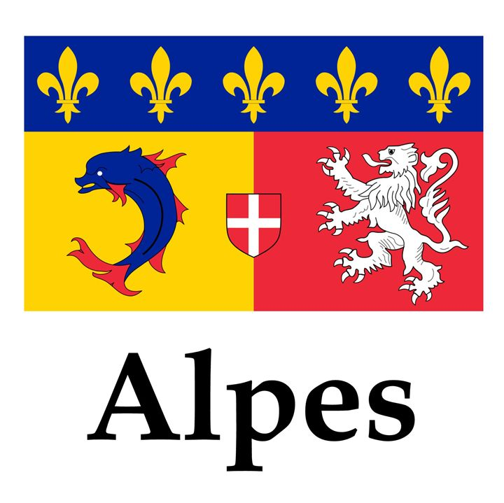 Alpes Flag - My Evil Twin