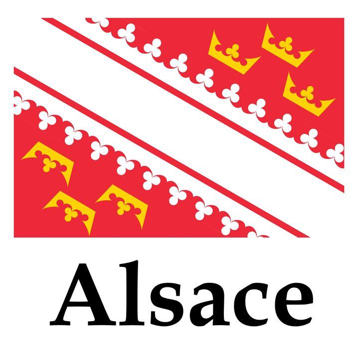 Alsace Flag - My Evil Twin