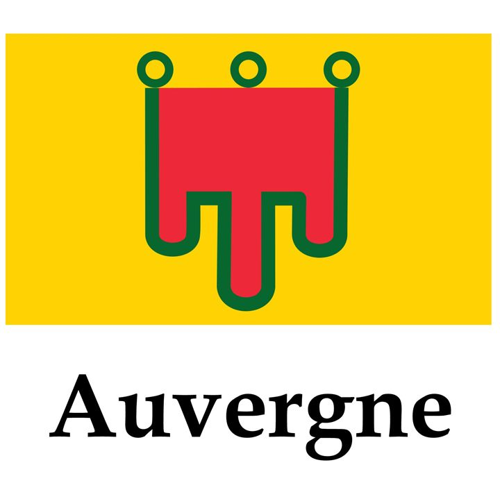 Auvergne Flag - My Evil Twin