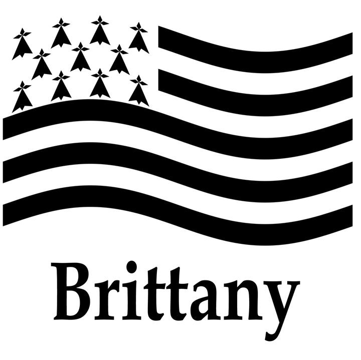 Brittany, France Flag - My Evil Twin
