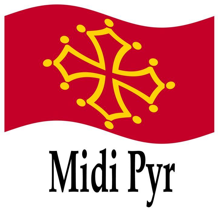 Midi Pyr, France Flag - My Evil Twin